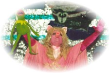 Michael Verbooy als Miss Piggy